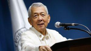 Filippiinien ulkoministeri Perfecto Yasay