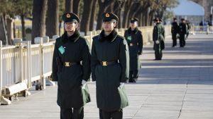 Kiinalaisia sotilaita.