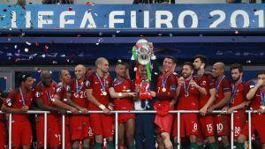 Portugali vei Euroopan mestaruuden vuonna 2016 Ranskan isännöimissä kilpailuissa