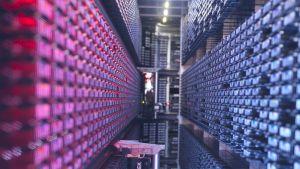 ECMWF:n supertietokone, joka laskee Euroopan keskipitkät sääennusteet.