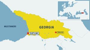Georgian kartta.