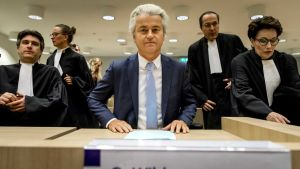 Geert Wilders oikeudessa