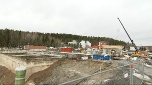 Nenäinniemen jätevedenpuhdistamon remontti  Jyväskylässä