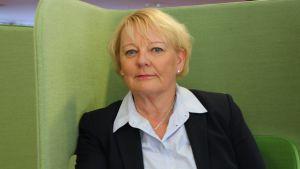 Erityispedagogiikan professori Leena Holopainen.