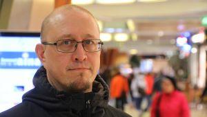 Kriisityöntekijä Kimmo Räty.