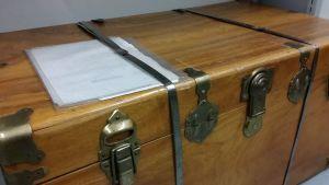 puinen arkku