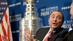 NHL-komissaari Gary Bettman