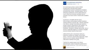 Itä-Uudenmaan poliisi varoittaa Facebookissa.