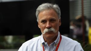 F1-sarjan uusi toimitusjohtaja Chase Carey.
