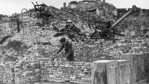 Berliini sodan jälkeen.