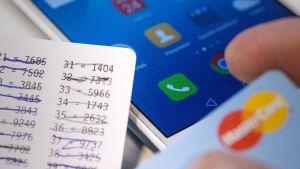 pankkitunnukset luottokortti kännykkä