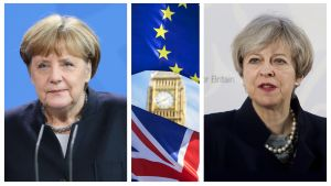 Angela Merkel, Big Ben ja Theresa May