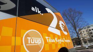 Halpataksipalvelu Kyyti aloitti toimintansa Oulussa.