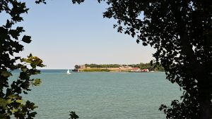 Näkymä Ontariojärvelle.