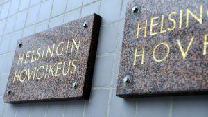 Helsingin hovioikeuden kyltit