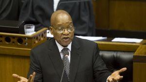 Etelä-Afrikan presidentti Jacob Zuma