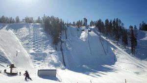 Taivalvaaran hiihtokeskus Taivalkoski