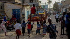 Kylänraitti Senegal