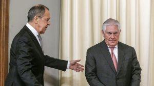 Sergei Lavrov ja Rex Tillerson