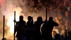 Belgradin Partizanin ja Punaisen tähden välinen derby.
