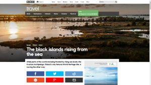 BBC Travelsin verkkosivu