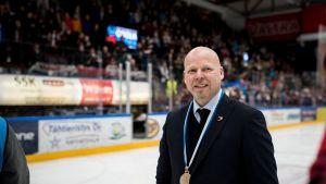 JYPin valmentaja Marko Virtanen.