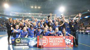 Classic, Salibandyn naisten Suomen mestari vuonna 2017.