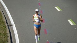 Anne-Mari Hyryläinen Rion olympialaisissa.