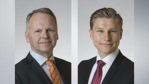 Jari Leppä ja Antti Häkkänen.