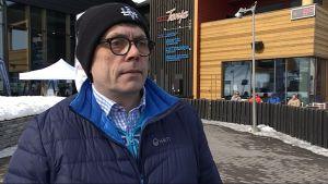 Levi Ski Resort Ltd:n toimitusjohtaja Jouni Palosaari