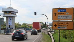 Fabrice Schild ylittää Saksan ja Ranskan välisen rajan kymmenen kertaa viikossa.