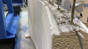 FIMAtec:in 3d-tulostimella tehty betonielementti