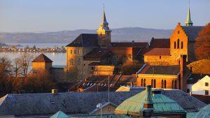 Akershus linnoitus Norja Oslo.