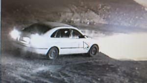 Kuva Haikanvuoren epäillystä autosta