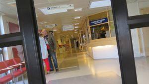 Sisääntulo Forssan sairaalaan