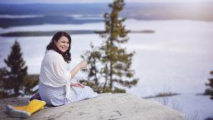 Nina Pesonen Varkaudesta SuperMe, Korpilumo