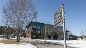 Kajaanin ammattikorkeakoulun rakennus