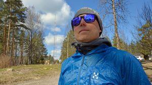 BASE-hyppääjä Markus Saari