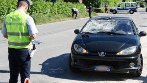 Nicky Hayden törmäsi autoon pyörälenkillään Italiassa.