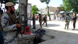 Näkymä Kabuliin 20. toukokuuta.