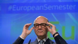 Talouskomissaari Pierre Moscovici