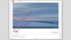Kuvakaappaus YouTube-videosta