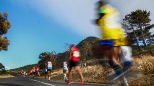 Ultramaraton-juoksijoita (yleiskuva)