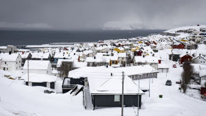 Taloja Tromssassa.