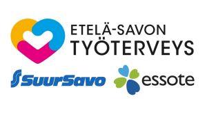 Etelä-Savon Työterveyden, Osuuskauppa Suur-Savon ja Essoten logot