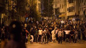 Marokko mielenosoitukset