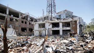 Tuhon jälkiä Afganistanissa