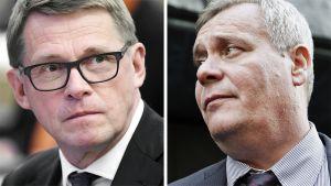 Matti Vanhanen ja Antti Rinne