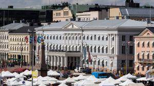 Helsingin Kauppatori.