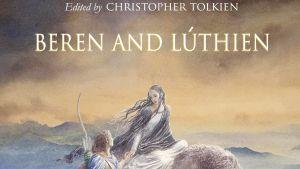 Yksityiskohta Beren and Lúthien -kirjan kannesta.